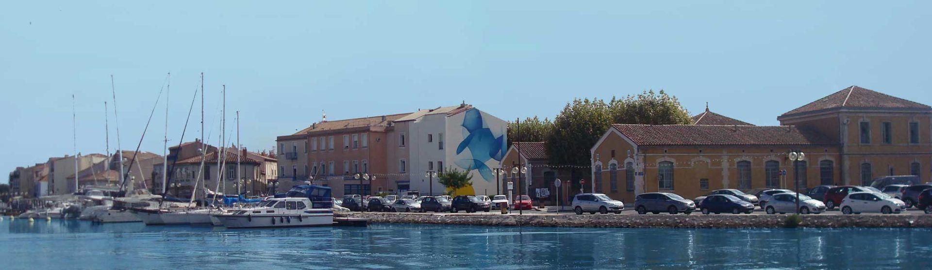 Art public - Guillaume Bottazzi - Martigues, Côte d'Azur