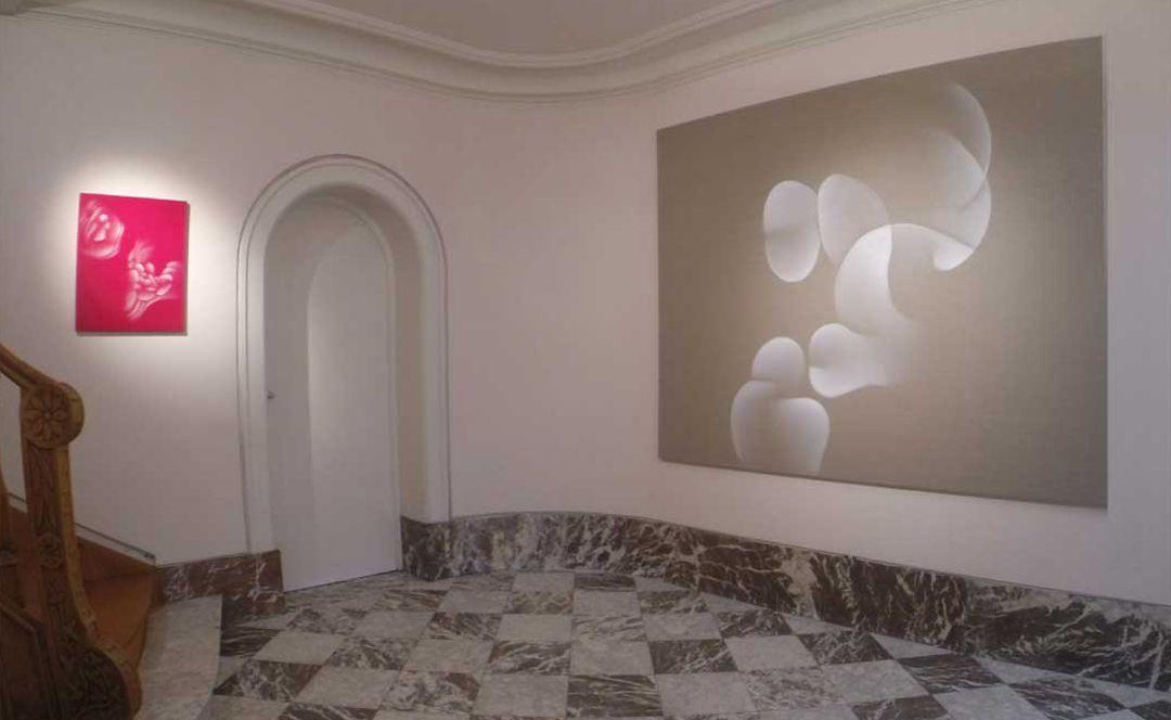 Guillaume Bottazzi, exposition à la Galerie Artiscope à Bruxelles en 2016