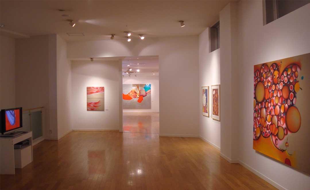 Guillaume Bottazzi's exhibition at Miyanomori Museum in Japan