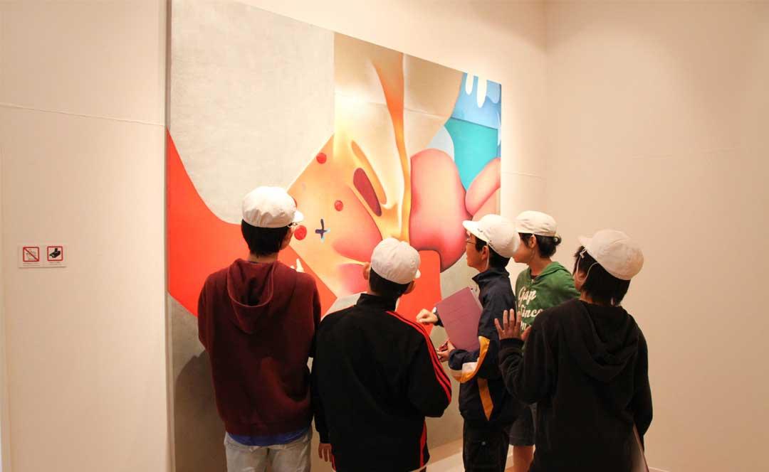 Guillaume Bottazzi, exposition personnelle au Musée International d'Art Miyanomori au Japon en 2011