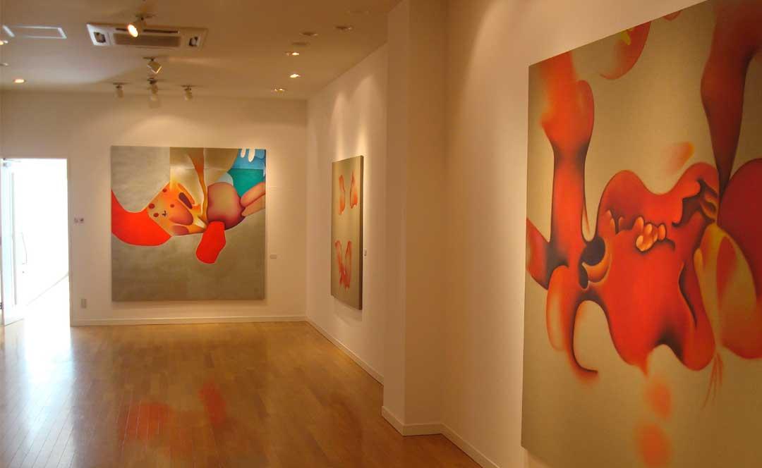 Exposition de Guillaume Bottazzi au musée international d'art Miyanomori au Japon en 2011