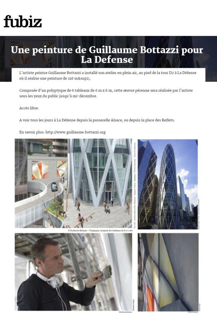 Art public Paris, Guillaume Bottazzi, Fubiz