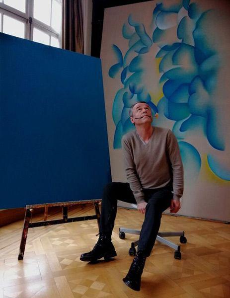 Guillaume Bottazzi's artist studio, Moliere district in Brussels
