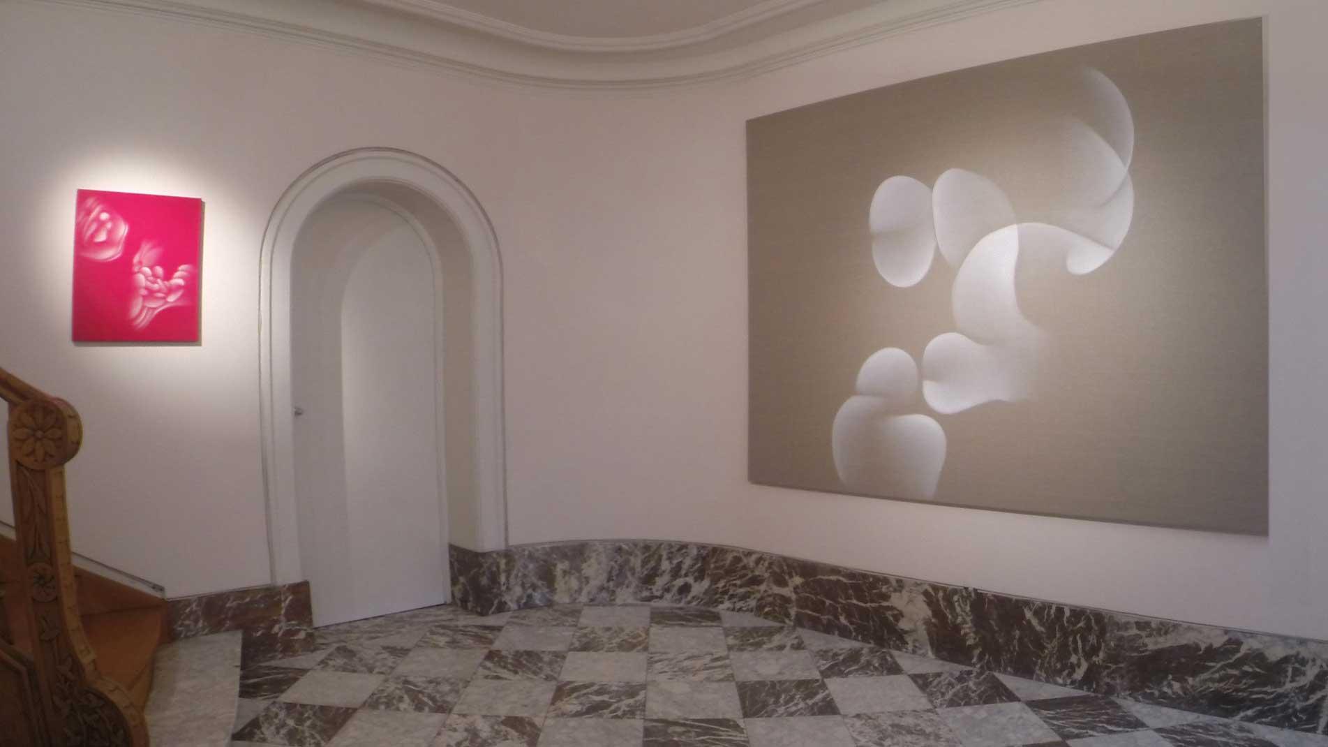 Guillaume Bottazzi - Galerie Artiscope, Bruxelles, 2016