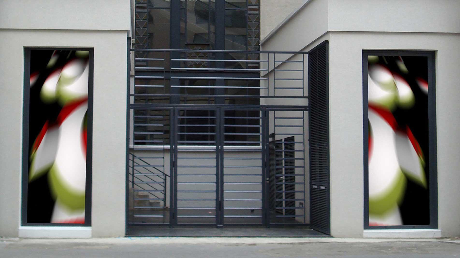 Guillaume Bottazzi, environmental art, heritage building