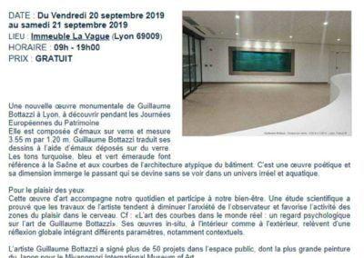 Bottazzi - Le Parisien - Journées Européennes du patrimoine 2019