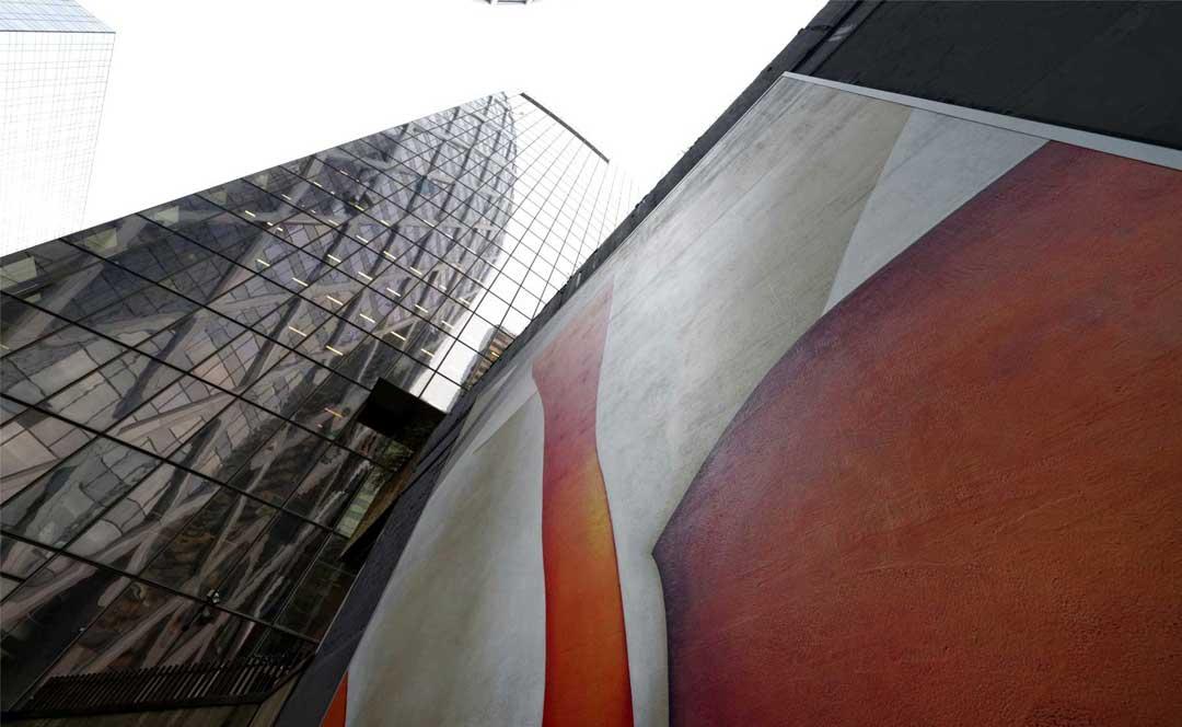 Guillaume Bottazzi, public art, Paris La Defense