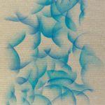 Huile sur toile de lin brut, 146 x 97 cm © 2018