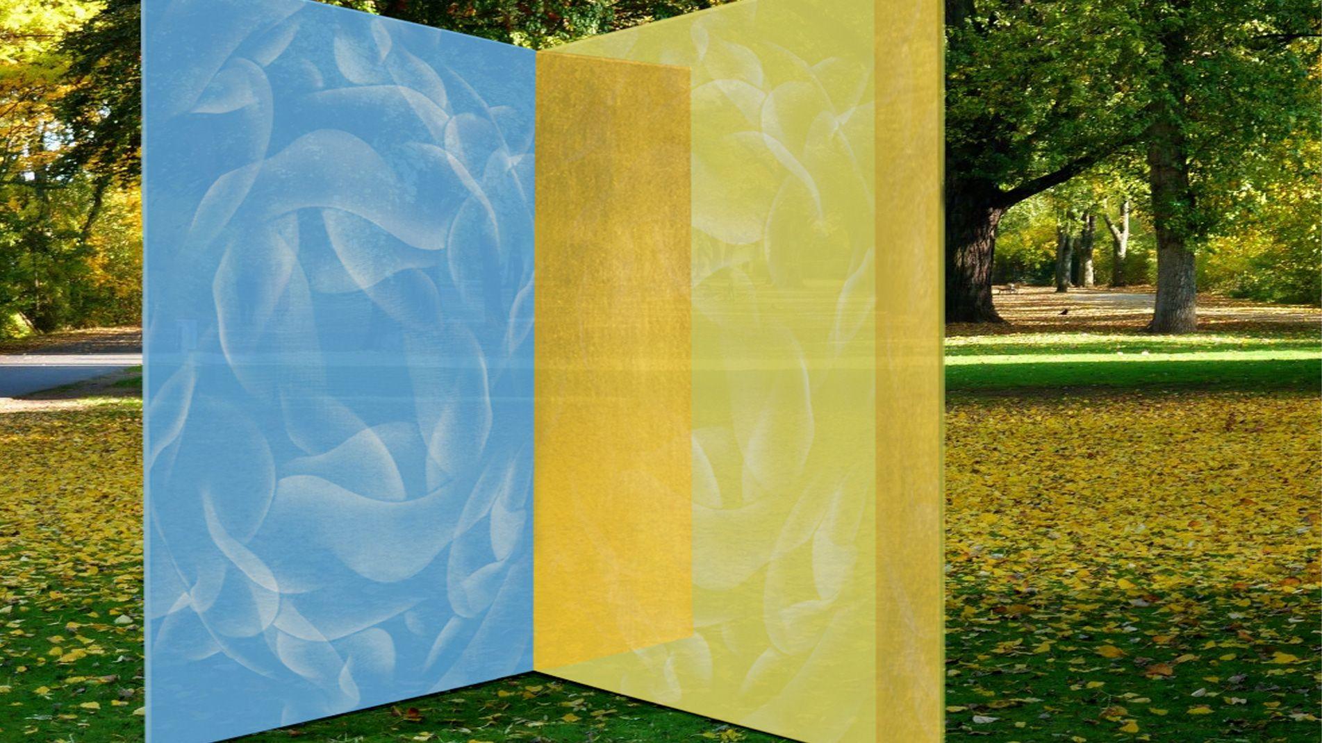Guillaume Bottazzi, sculpture, emaux sur verre, Aix en Provence