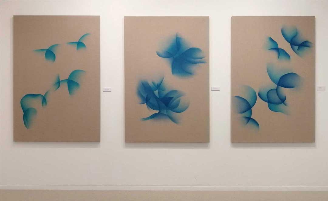 Guillaume Bottazzi, exposition à la galerie Itsutsuji à Tokyo en 2019