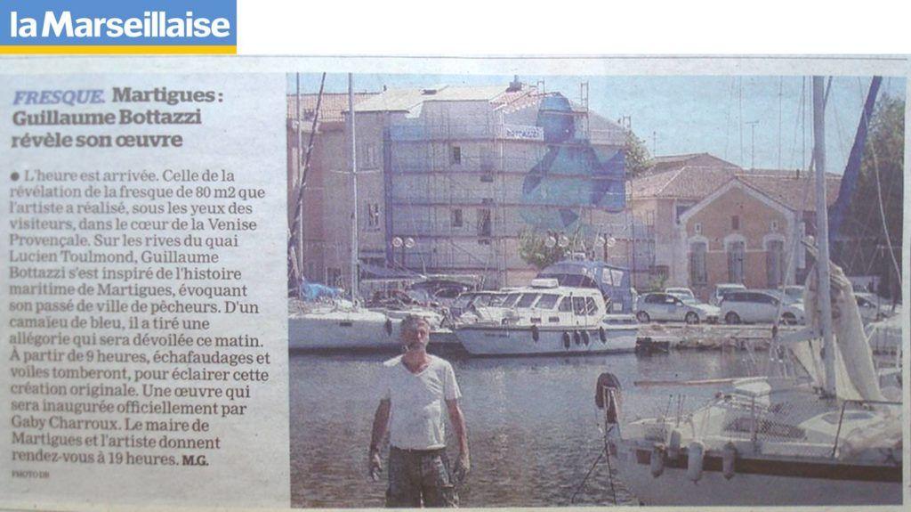 Guillaume Bottazzi, journal La Marseillaise, France