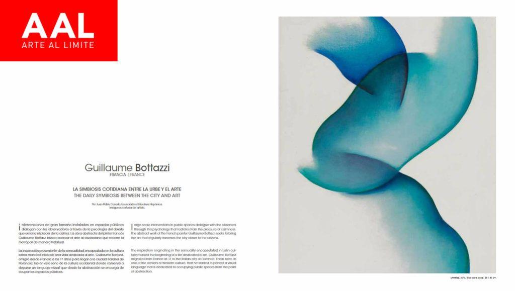Arte Al Limite magazine about the artist Guillaume Bottazzi
