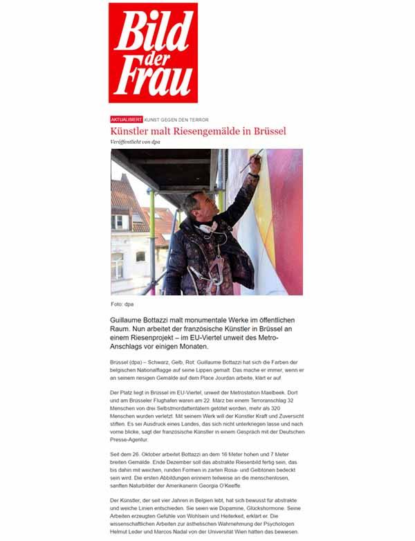 Guillaume Bottazzi on Bild der Frau magazine
