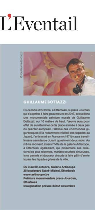 Guillaume Bottazzi sur le magazine d'art de vivre L'Eventail