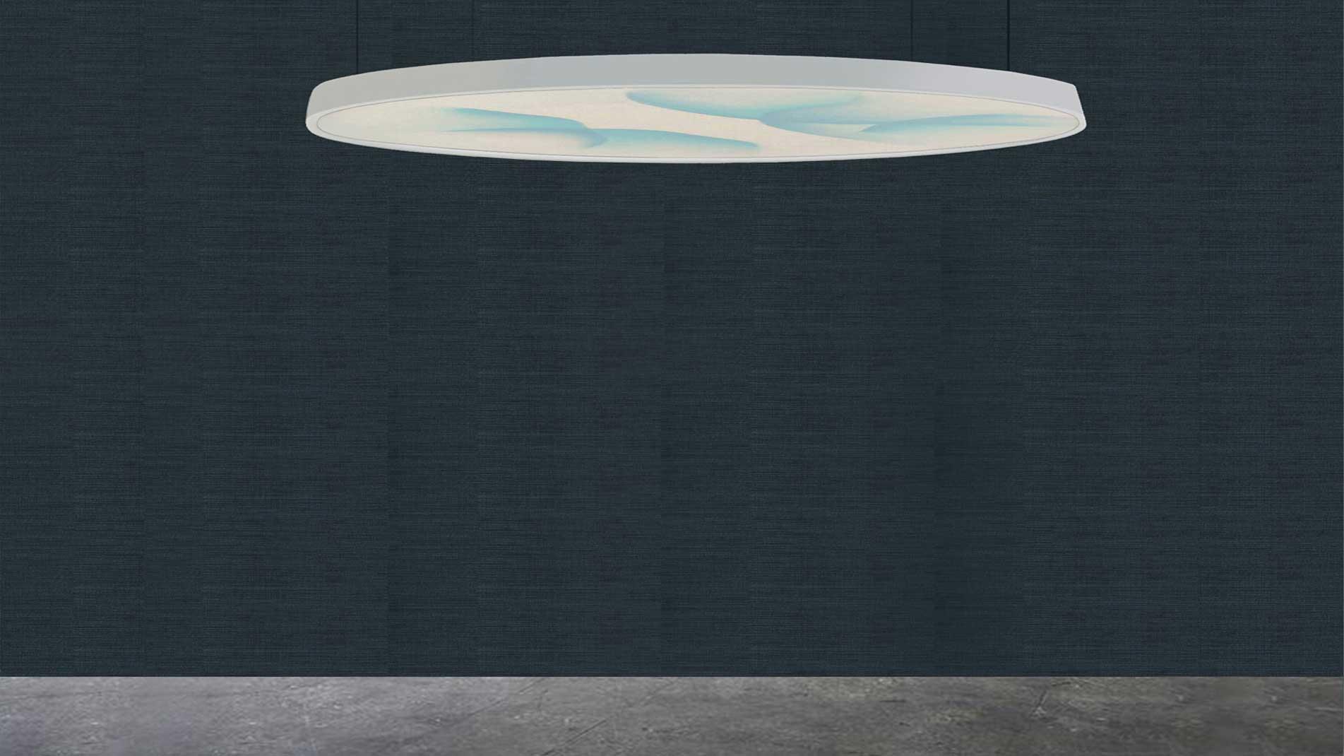 Oeuvre rétroéclairée de l'artiste Guillaume Bottazzi à Lyon. Cette oeuvre unique a été réalisée in situ
