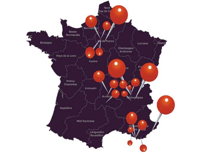 20 oeuvres d'art de Guillaume Bottazzi à voir en France à l'occasion des Journées Européennes du Patrimoine