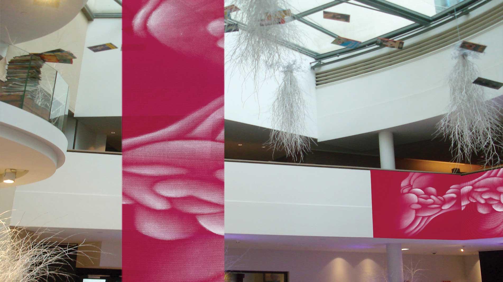 Guillaume Bottazzi, installation in situ à Bruxelles, à l'hôtel Sofitel Europe
