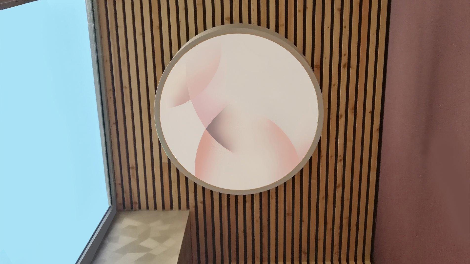 Guillaume Bottazzi, backlit artkork, Lyon, France