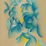 Peinture abstraite de l'artiste Guillaume Bottazzi, 200 x 300 cm, réalisée en 2017