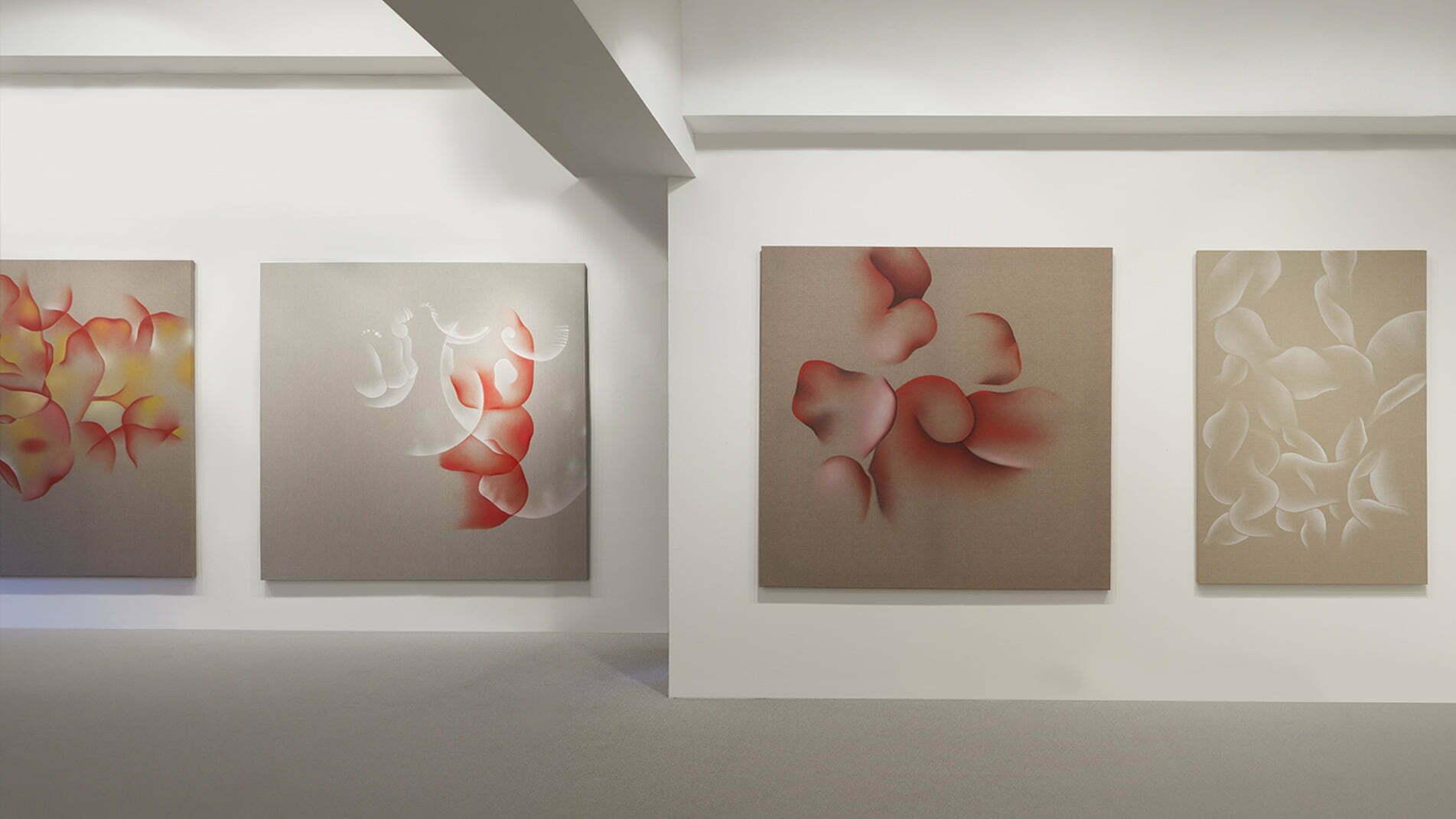 Exposition de l'artiste Guillaume Bottazzi à la galerie Itsutsuji à Tokyo en 2013