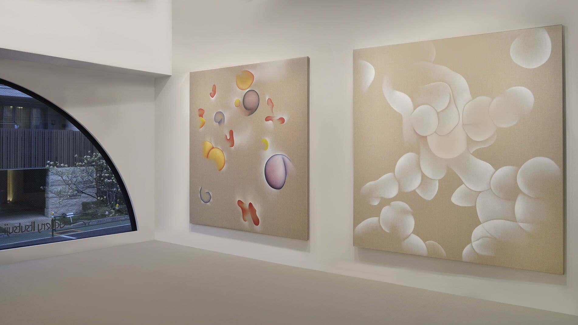 Exposition de Guillaume Bottazzi à la galerie Itsutsuji à Tokyo en 2015