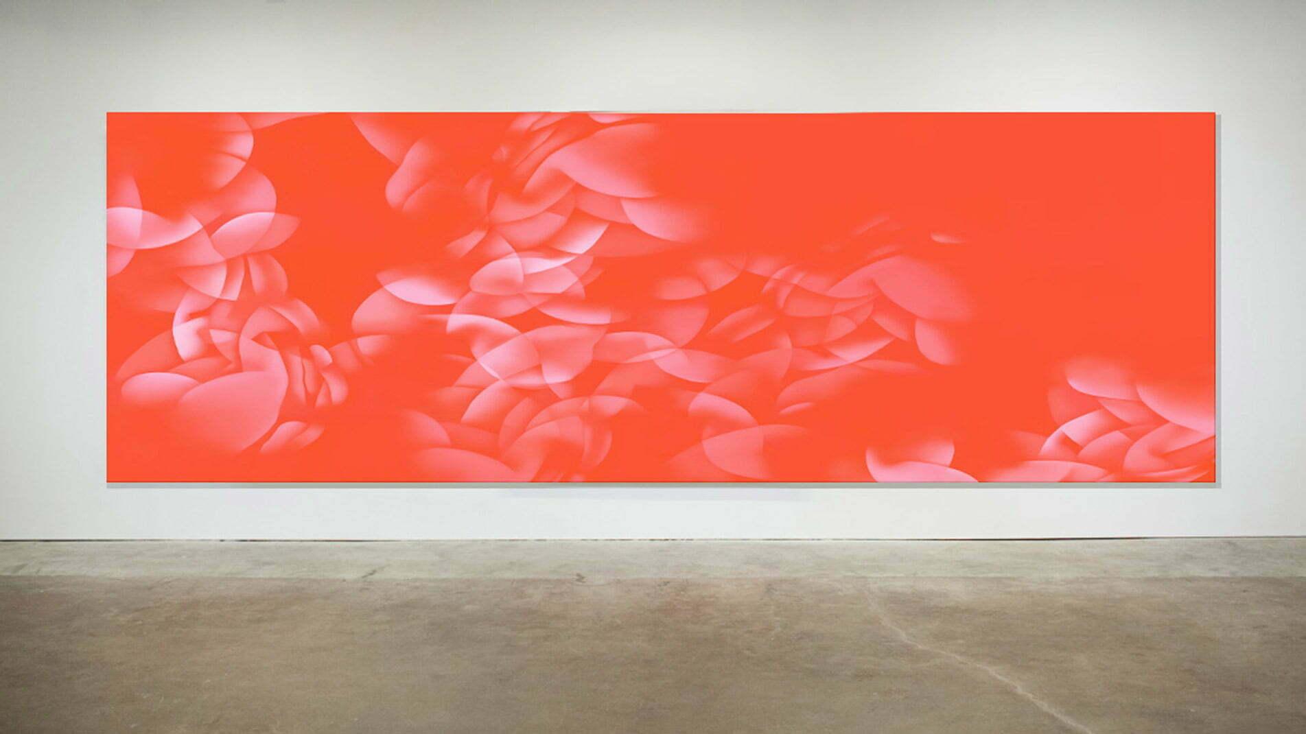Guillaume Bottazzi, peinture sur tissu