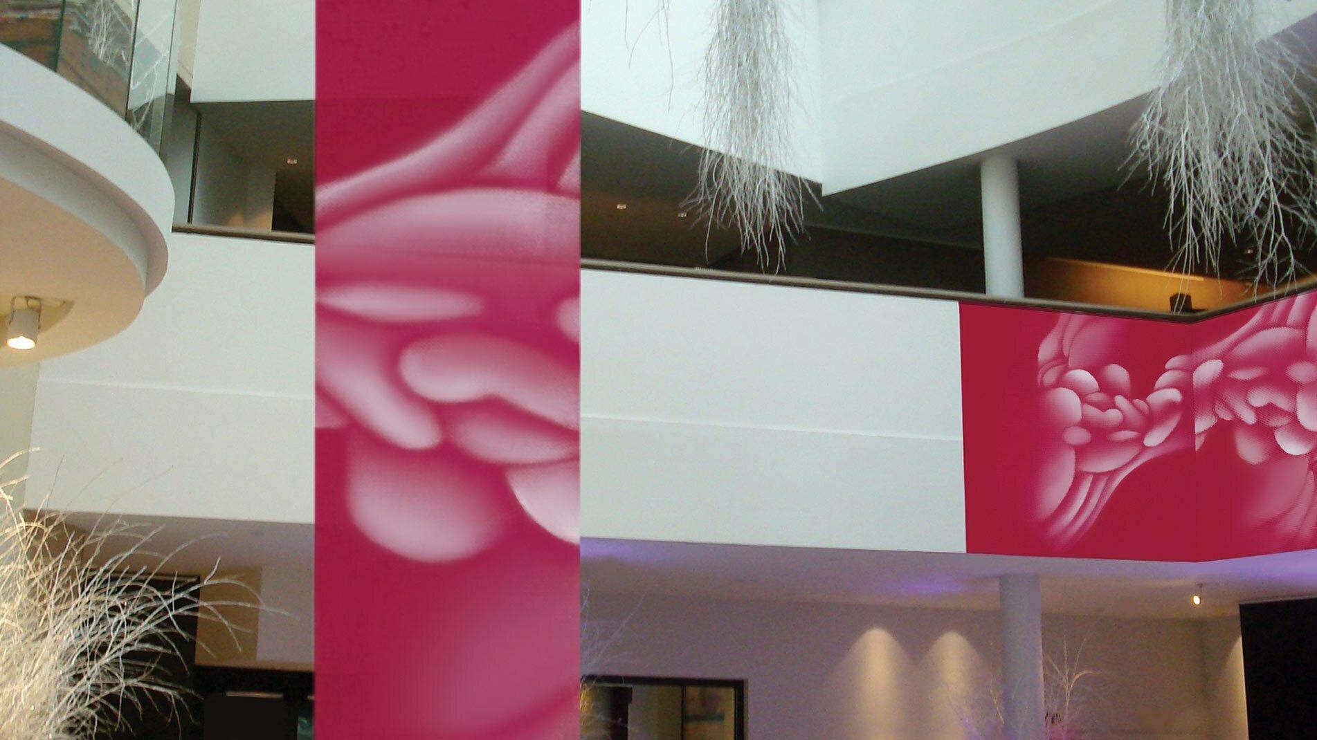 Installation de l'artiste Guillaume Bottazzi pour l'hôtel Sofitel à Bruxelles