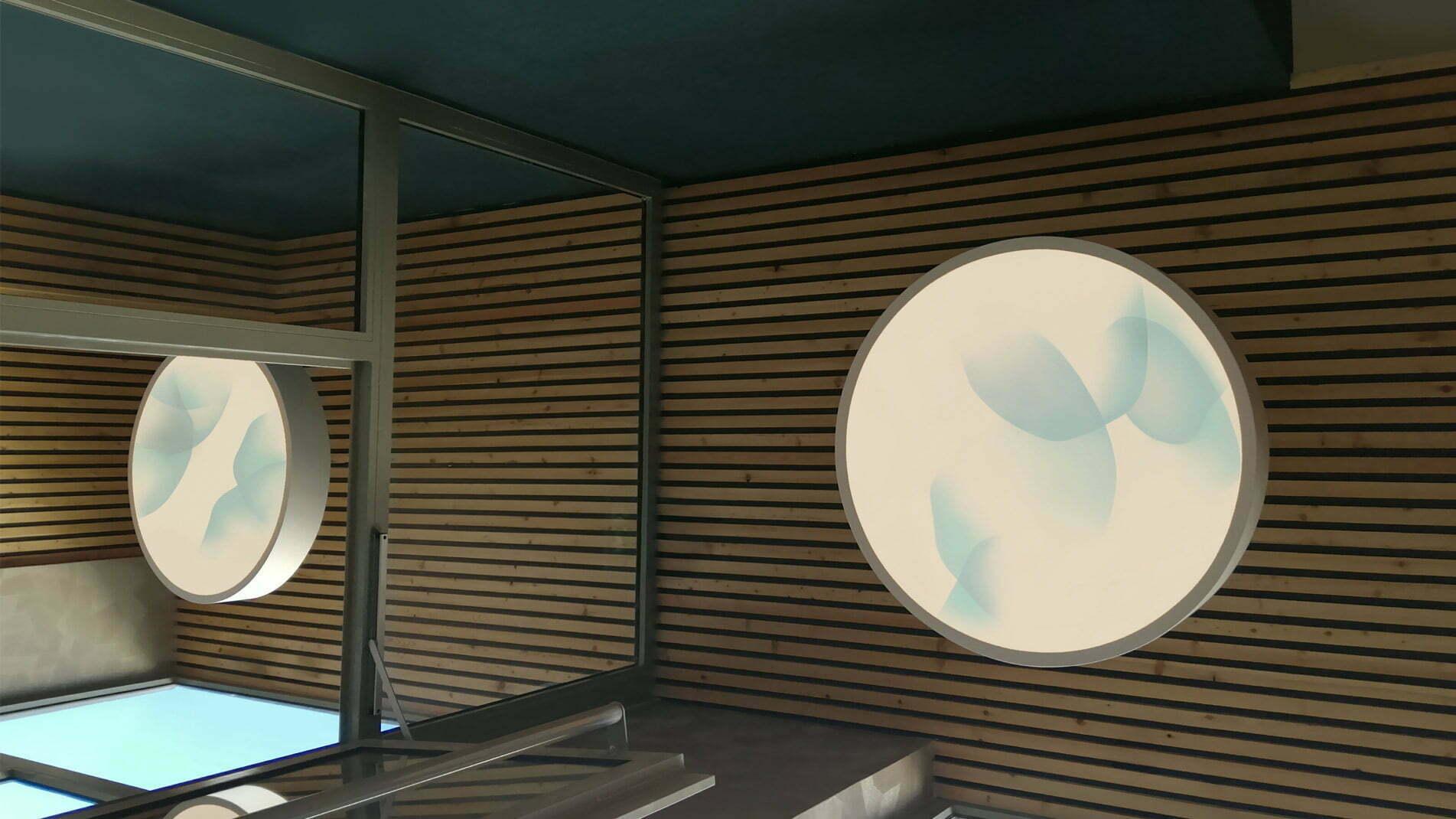 Installations lumineuses de Guillaume Bottazzi à Lyon