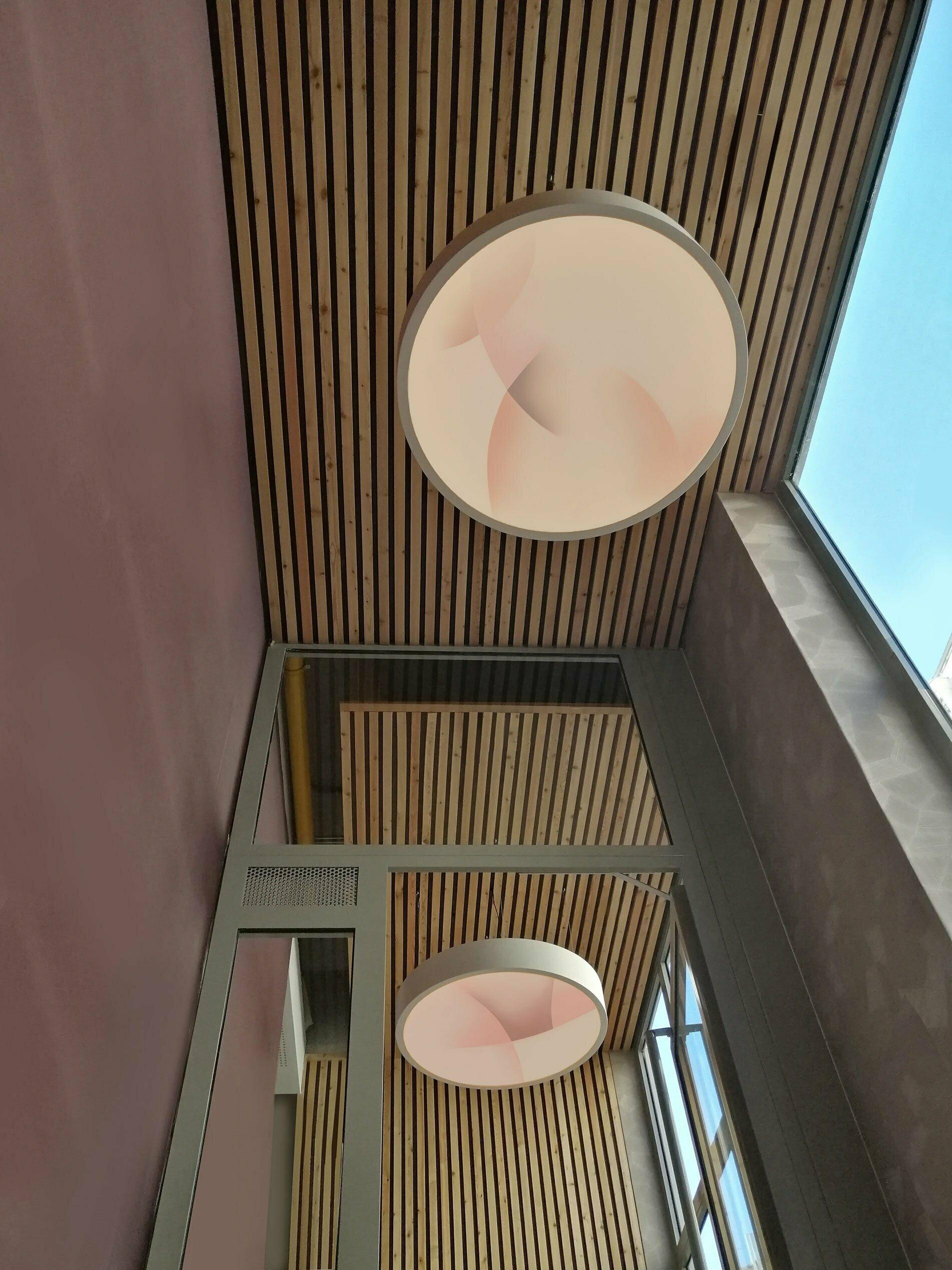Installations lumineuses de Guillaume Bottazzi, Lyon. A découvri à l'occasion des Journées Européennes du Patrimoine