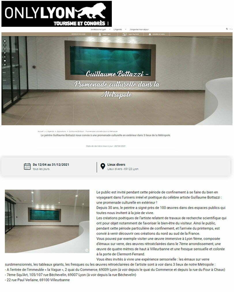 Article au sujet de Guillaume Bottazzi sur le site d'office