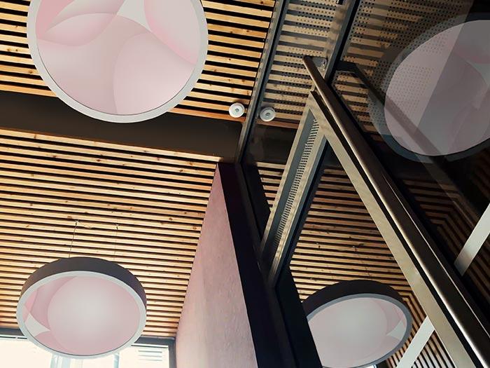 Guillaume Bottazzi, installation lumineuse
